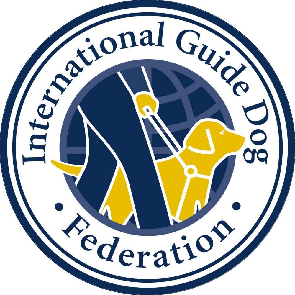 Logo International guide dog federation.