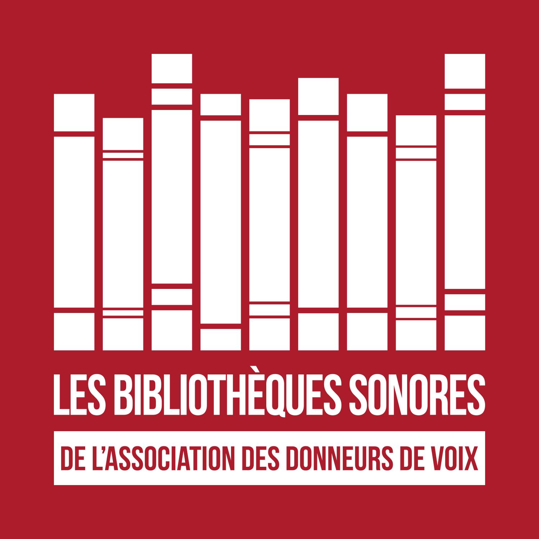 Logo Les bibliothèques sonores de l'association des donneur de voix