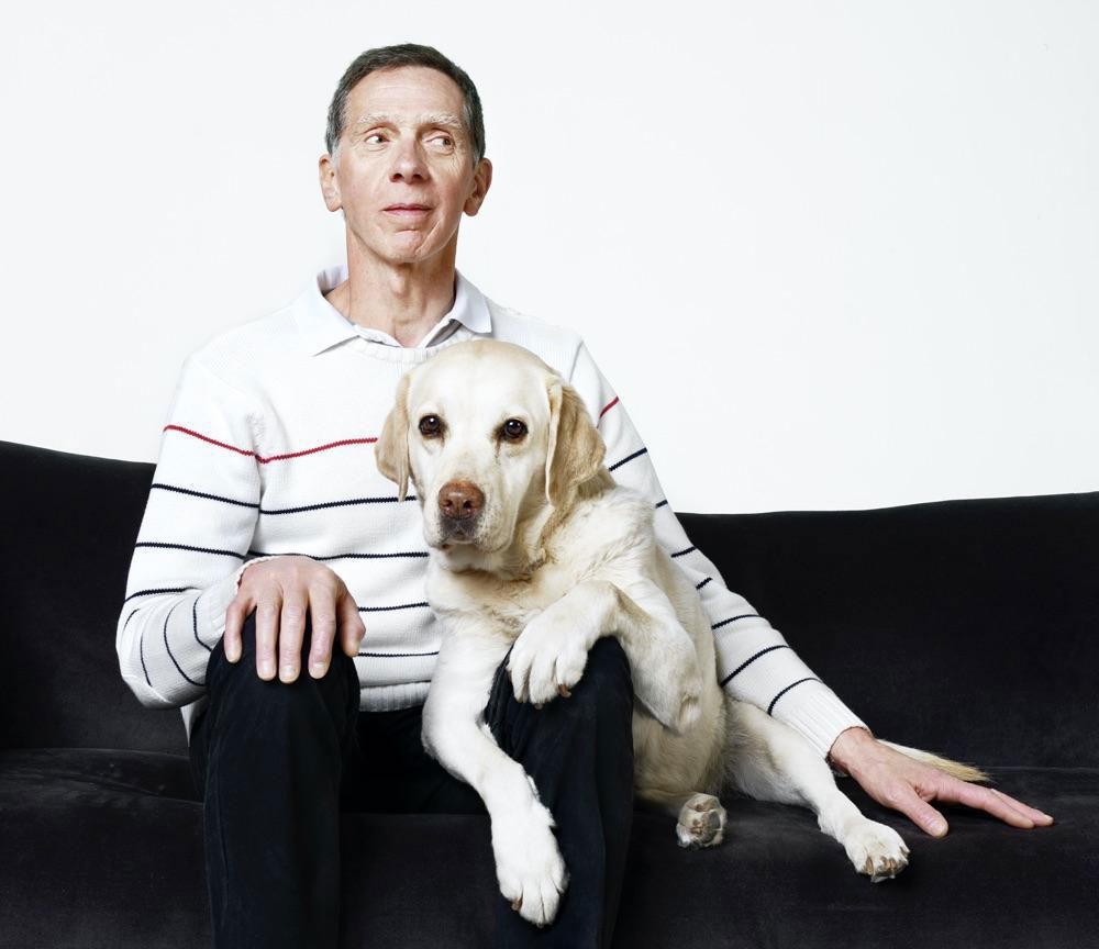 Joël souvy, maitre de chien guide