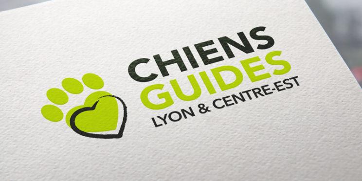 Nouveau logo chiens guides