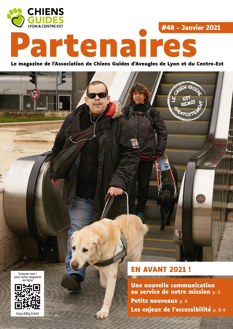 Couverrture du Magazine Partenaires numéro 48