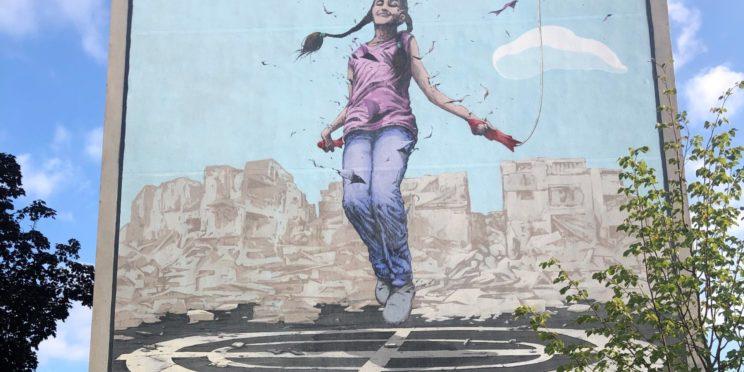 Fresque hommage au Civil Incinnu